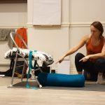 Emma teaching AVK Autumn 2019